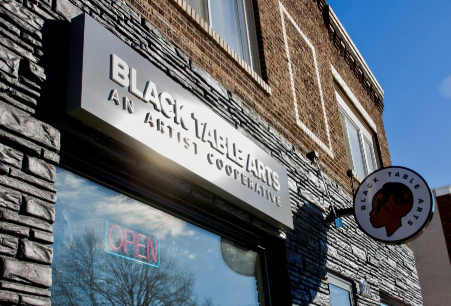 The site of Black Table Arts, a new cooperative space for black artists to gather, discuss community issues, collaborate, and create on Friday, Jan. 22.