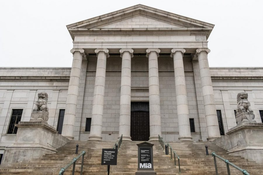 The Minneapolis Institute of Art on Monday, Dec. 7. The MIA will be reopening to the public on January 28.