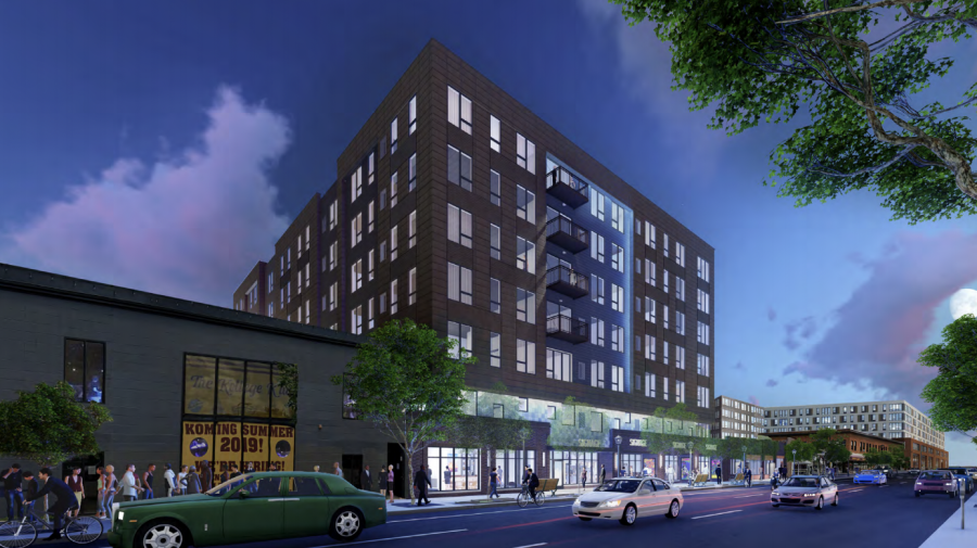 A rendering of the 4th Street Apartments, which was approved by the Minneapolis Planning Commission earlier this month.