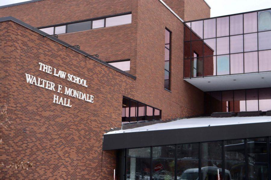 Walter+F.+Mondale+Hall%2C+home+of+the+University+of+Minnesota%27s+Law+School+on+Thursday%2C+Feb.+4.