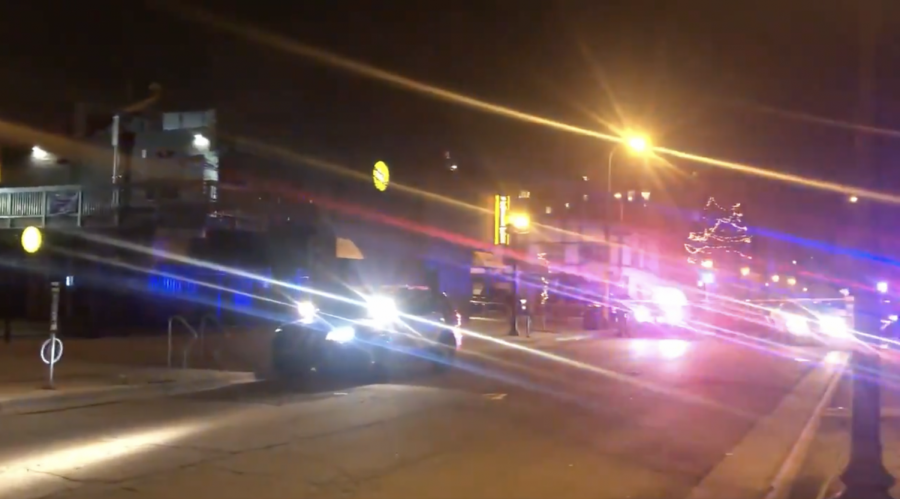 Police+officers+responded+to+reports+of+a+shooting+in+Dinkytown+late+Monday+night+on+March+29.+