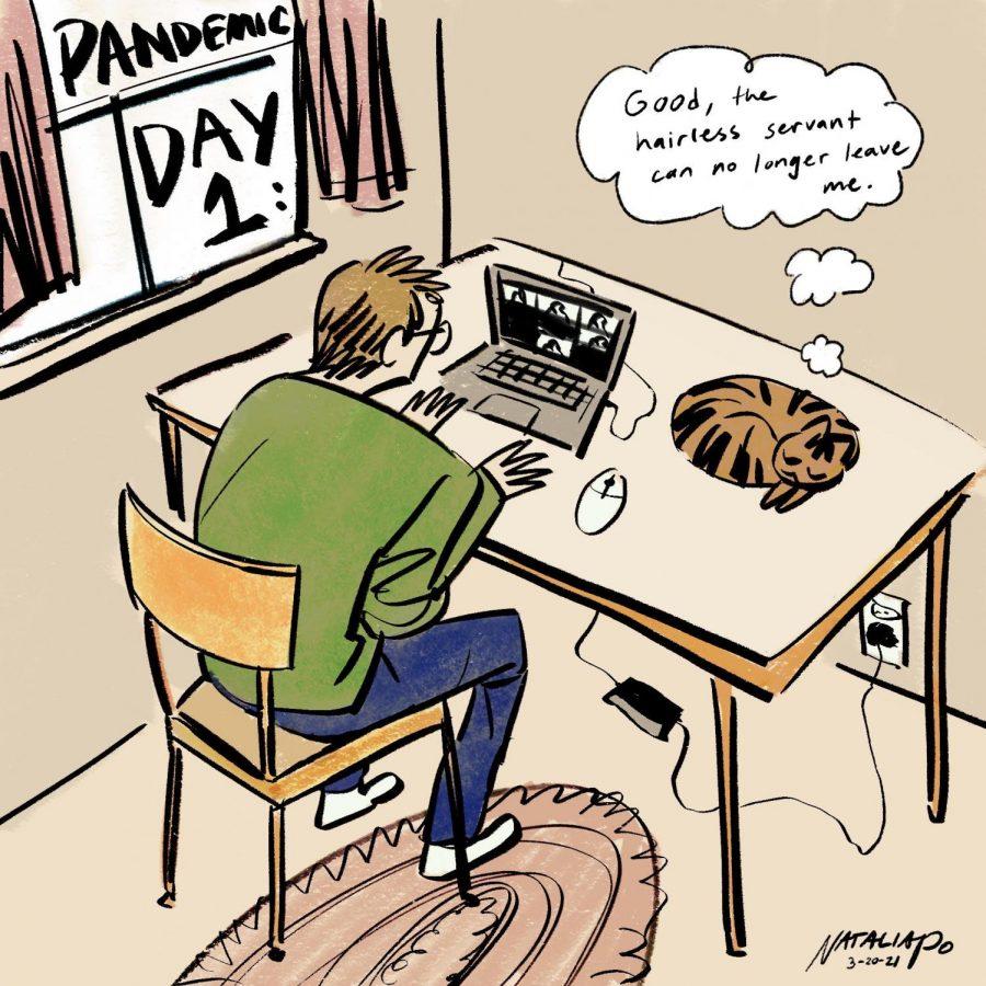 Editorial Cartoon: Happy Quarantine Anniversary