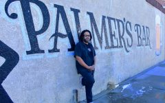 Tony Zaccardi, the curent owner of Palmer's Bar, poses for a portrait outside of the bar on Monday, March 1. Palmer's Bar will reopen sometime within the next few weeks.