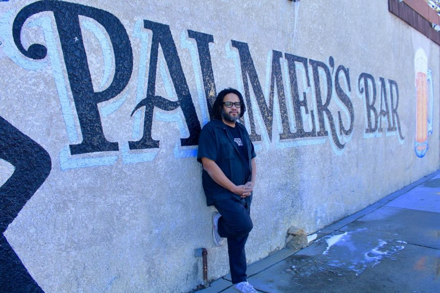 Tony Zaccardi, the curent owner of Palmer's Bar, poses for a portrait outside of the bar on Monday, March 1. Palmer