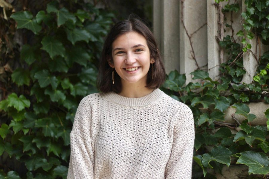 Priscilla Hagerman, a Geography and Global Studies student at the U, is working on a national campaign for gender equality.