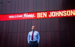 Men's head basketball coach Ben Johnson.