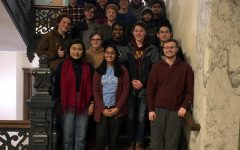 A group photo of the University of Minnesota quiz bowl team