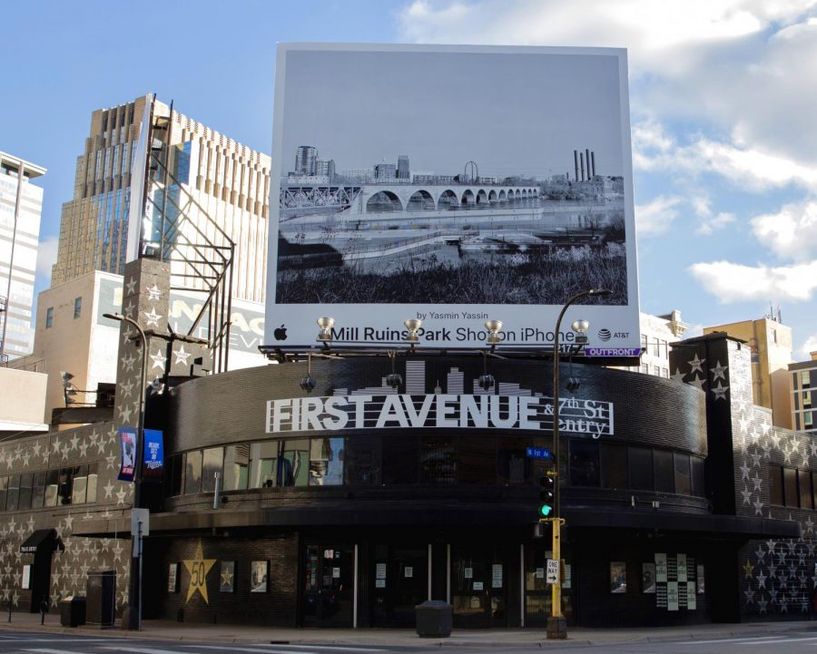 First Avenue venue sits empty on Wednesday, March 31. The Minnesota chapter of the National Independent Venue Association was founded by First Avenue, along with other local music venues, to advocate for relief in the form of the SaveMNStages bill.