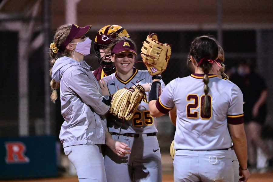 Gopher softball's Autumn Pease having breakout 2021 season