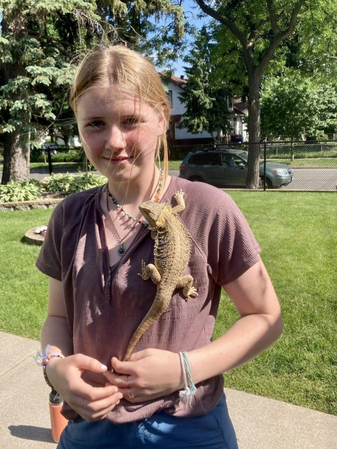 Harper McIntyre, daughter of Grace Riley