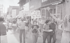 FREE members participating in one of their many pickets. Photo courtesy of the Jean-Nickolaus Tretter GLBT Collection.