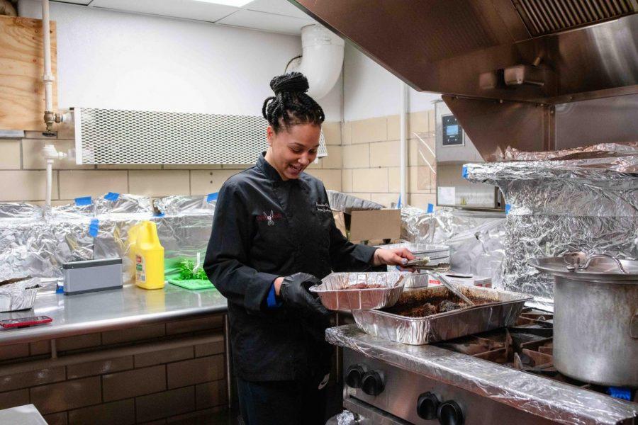 Photos courtesy of Lamar Ballinger of Imani Jackson, executive chef at Chopped and Served.