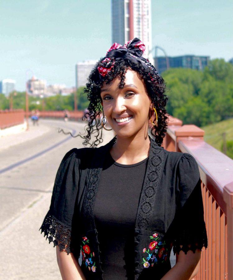 Yusra+Arab+poses+for+a+portrait+on+July+4+in+Minneapolis%2C+Minn.