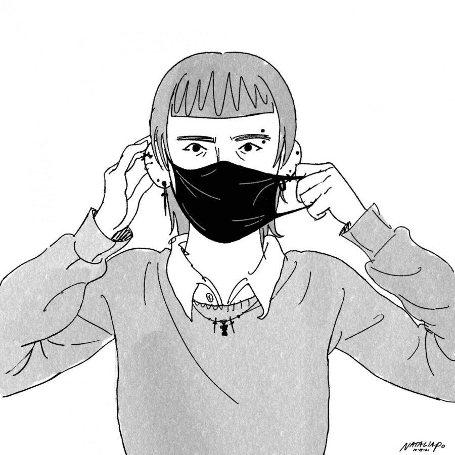 Editorial cartoon: Maskne