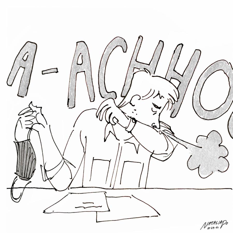 Editorial cartoon : Why do I do this?