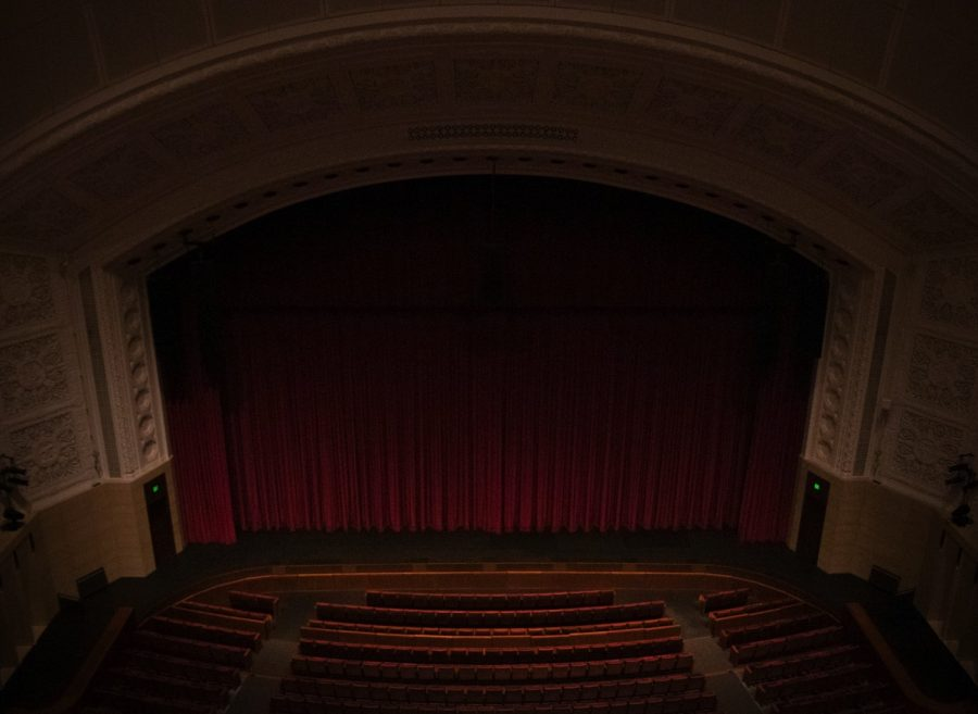 Northrop Auditorium on Tuesday, March 17, 2020. Northrop is hosting the Spotlight Series that focuses on patriotism, public service, and civic engagement.